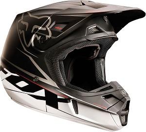 Motocross Helmet Head
